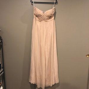 Donna Morgan Laura Sweetheart Long Chiffon Dress